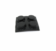 Rubber Pad Round Short (set of 4)