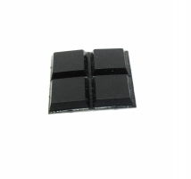 Rubber Pad Square (set of 4)