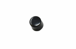 Switch Cap, Screw-On, Black