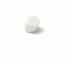 Switch Cap, Screw-On, White