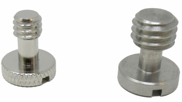 Camera Mounting Screw Set, 1/4 & 3/8 inch
