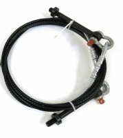 Triangle Super Strut Cable w/Eyebolts, Shackles & Pinch Collars