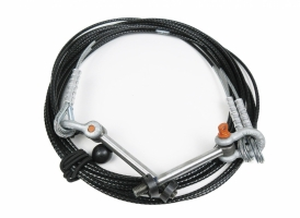 Jib Lite Giant Strut Cable, 12ft (w/hardware, sold as 1 pair)