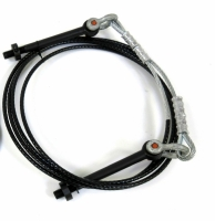 Triangle Giant Plus Strut Cable w/Eyebolts, Shackles & Pinch Collars