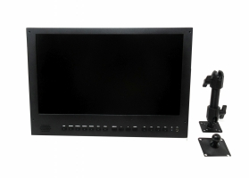 "4K 15.6"" LCD Monitor (w/ pivot mount assembly)"